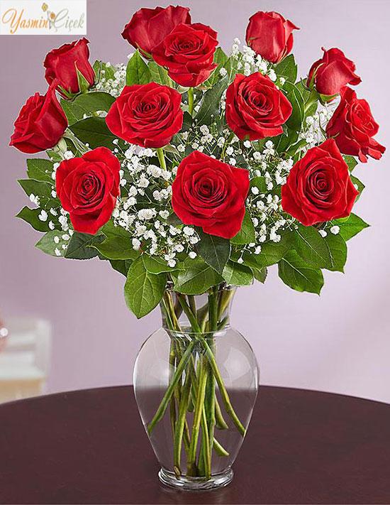 Elegance Kırmızı Güller ile aşkınızı anlatın