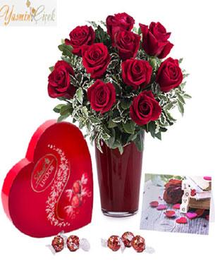 Koşulsuz sevgi: Kırmızı güller ve çikolata