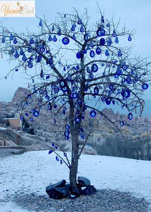Nazar Boncuklu Dilek Ağacı