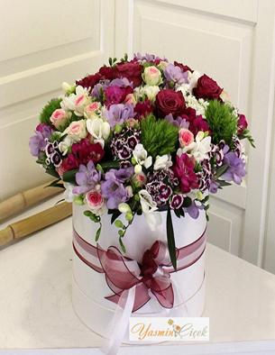Kutuda Renkli Çiçekler