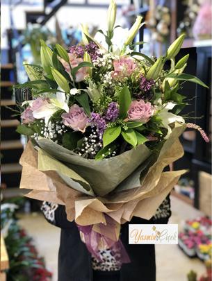 Soft Tasarım Çiçek Buketi